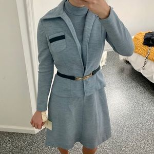 David Warren Vintage Two Piece Dress and Coat